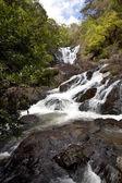 Waterfall in the jungle Dalat Vietnam — Stock Photo