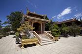Buddhist monastery in Dalat Vietnam — 图库照片