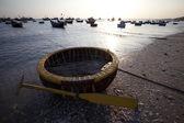Fishing boats in Mui Ne Vietnam — Stock Photo