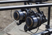 Spinning fishing reel — Stock Photo