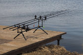 Fishing rods — Stock Photo