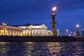 Saint Petersburg night view — Stock Photo