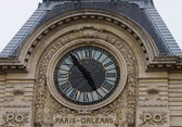 Orsay museum clock — Stock Photo
