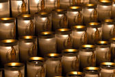 Candles in Notre Dame — Stock Photo