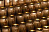 在巴黎圣母院的蜡烛 — 图库照片