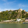 The fortress in Koblenz - Stock Photo