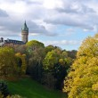 Luxembourg downtown and park — Stock Photo #17357253