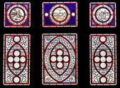 Stained glass — 图库照片