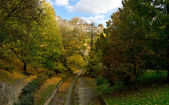 Luxembourg gorge park — Stock Photo