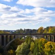 Luxembourg bridge - Stock Photo