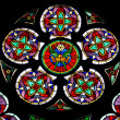The stained glass window — Stock Photo