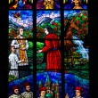 The stained glass window — Stock Photo #24465929