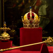 Habsburg's crown, sceptre and orb — Stock Photo #24465993