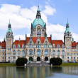 Hannover townhall — Stock Photo