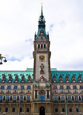 Hamburg townhall — Stock Photo