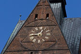 Church clock — Foto de Stock