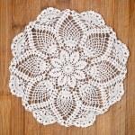 Vintage crochet doily — Stock Photo #9995466