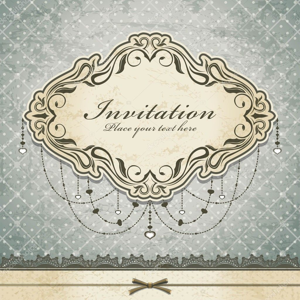 Vintage Invite Template | ctsfashion.com