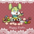 Happy Easter design template — Stockvektor