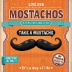 Vintage Mostachos, mustache poster design — Stock Vector #31470805