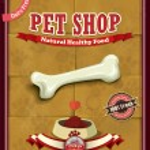 Vintage Pet shop poster design — Stock Vector #49291947