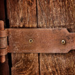 Door hinges. — Stock Photo