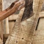 Old axe. — Stock Photo
