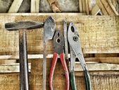 Hammare och verktyg — Stockfoto