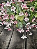 Flores artificiales — Foto de Stock