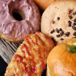 Bakery foodstuffs set — Stock Photo