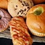 Bakery foodstuffs set — Stock Photo #31662657