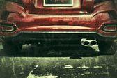 Espejo retrovisor — Foto de Stock