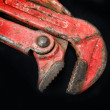 Stock Photo: Adjustable wrench tool