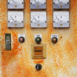 Control panel of an electrical — Stock Photo