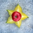 Stock Photo: Star fruit