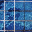 Blue swimming pool rippled water — Stock Photo
