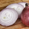 Fresh red onions — Stock Photo #34210163