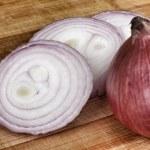 Fresh red onions — Stock Photo #34210163
