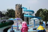 Slide in water park — Stock Photo