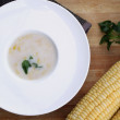 Corn soup — Foto de Stock
