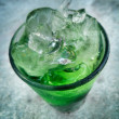 Green drinks — Stock Photo