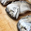 Steamed mackerel fish — Foto Stock