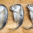 Steamed mackerel fish — Stock Photo