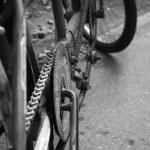 Retro tandem bicycle — Stock Photo #37473083
