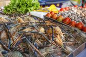 Fresh shrimp — Stockfoto