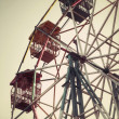 Ferris wheel against — Stock Photo