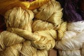 Raw silk — Stock Photo
