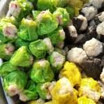 Chinese steamed pork dumplings — Stock Photo