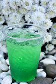 Green drinks n — Stock Photo