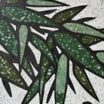 Bamboo painting — Stock Photo